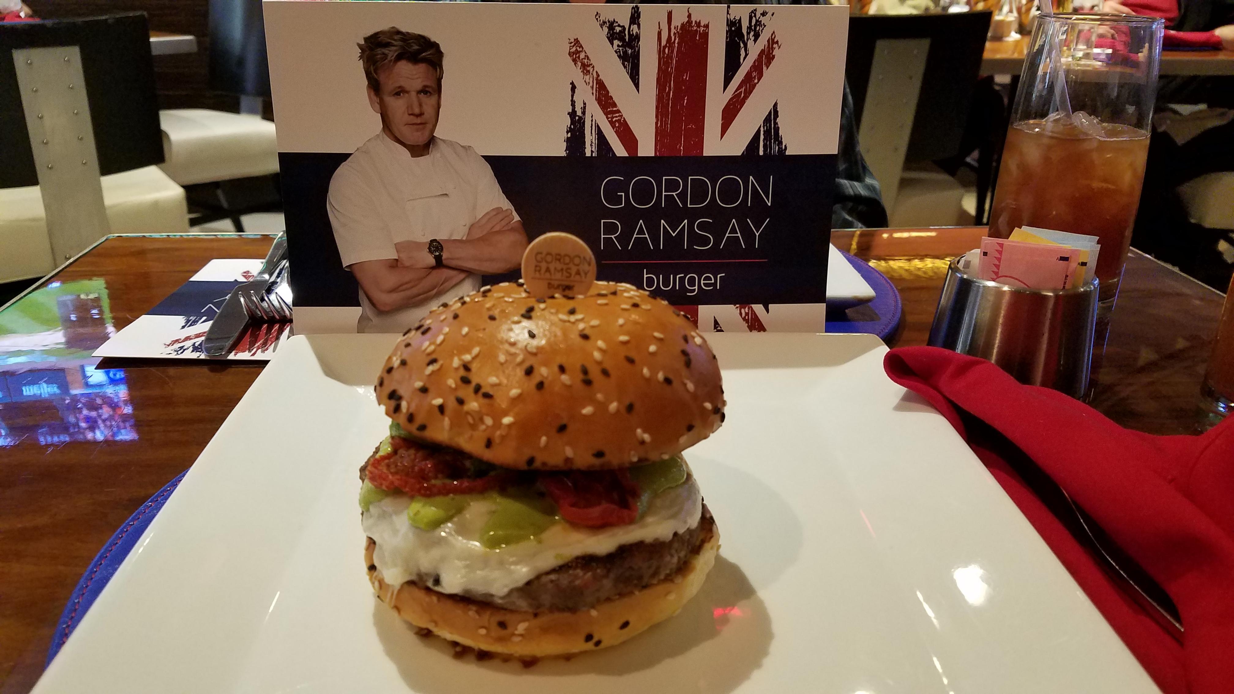 Gordon Ramsey Hot Dog